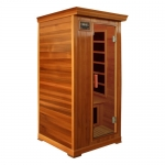 Deluxe 1 person infrared sauna Cedar