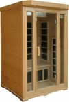Basic 2 person Infrared Sauna (hemlock)