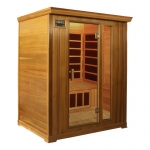 Deluxe 3 person Infrared Sauna Cedar