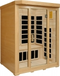 Basic 3 Person Infrared Sauna (hemlock)