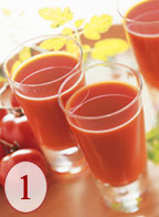 Juice whole fruits and vegatables creamy-smooth