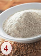 Grind healthy, whole grains - full of fiber