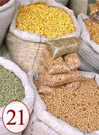 Mill grains and beans for gluten-free diets